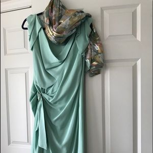 Emanuel ungaro silk cocktail dress